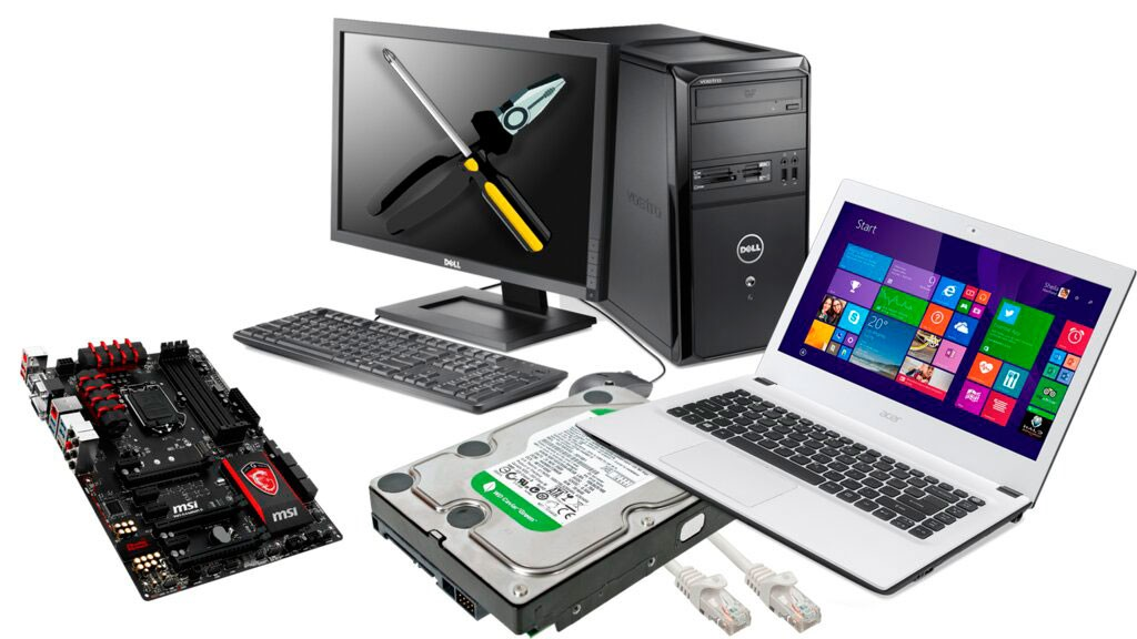 REPAIR OF COMPUTERS, LAPTOPS, PHONES AND TABLETS